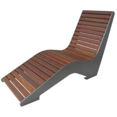 Wood Lounge Chair
