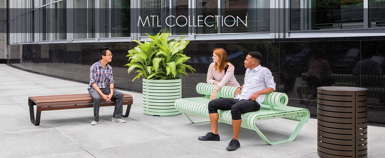 Urban furniture collections
